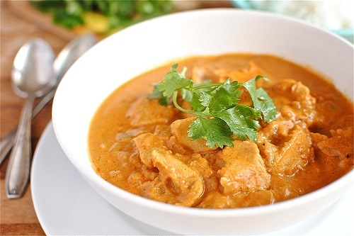 Butter Chicken in Plate