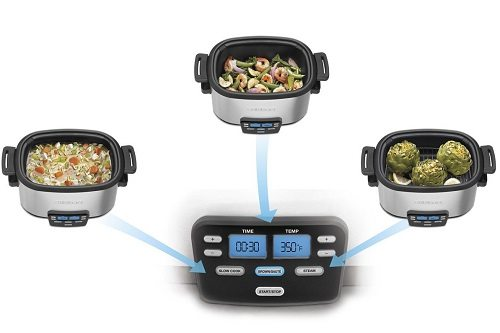 Three features of a Cuisineart slow cooker