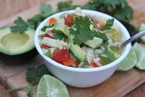 Authentic Mexican Chicken Soup