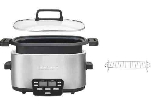 The Cuisinart 3-in-1 Cook Central Multicooker Assembling Parts