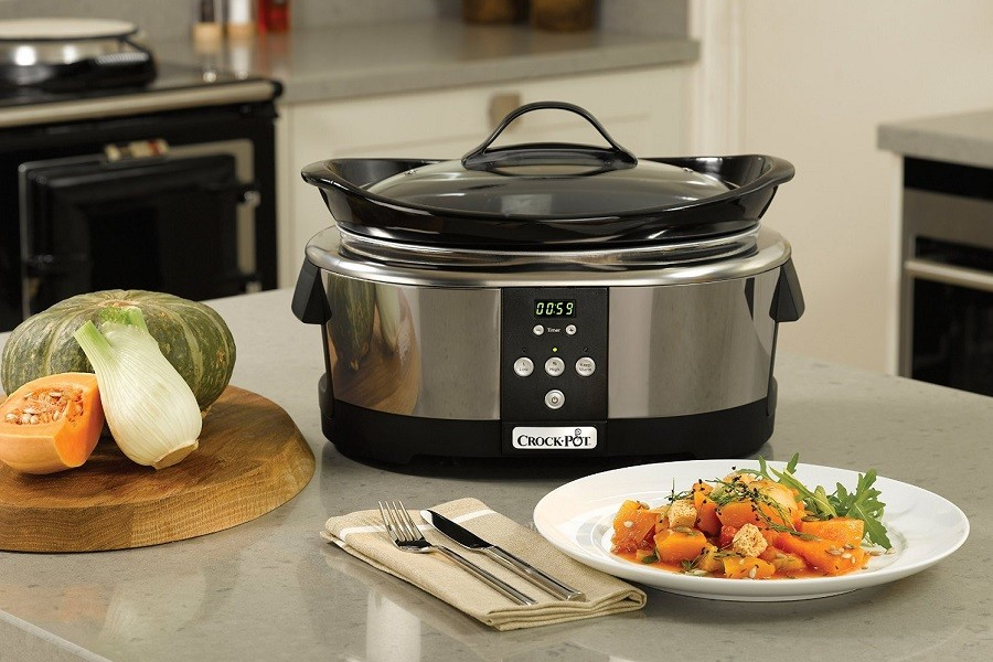 A Crockpot Next Generation Cooker on Kitchen Table