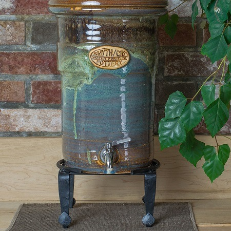 Stoneware Water Filter on Ceracim Crock Stand